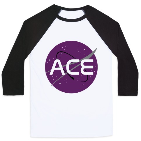 Ace Nasa Baseball Tee