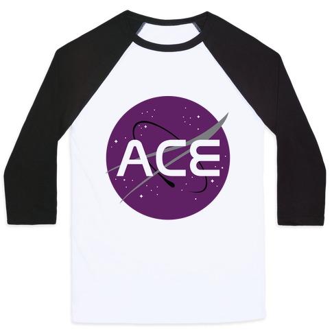 Ace Nasa Baseball Tee