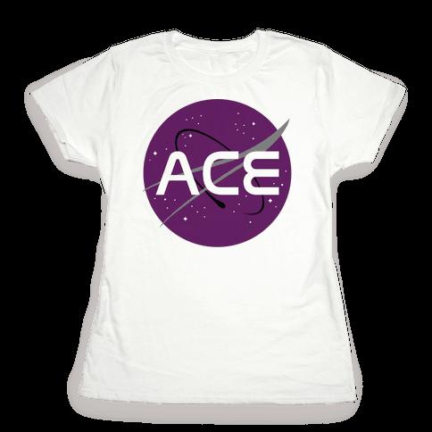 Ace Nasa Womens T-Shirt