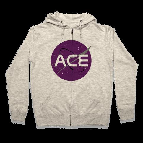 Ace Nasa Zip Hoodie