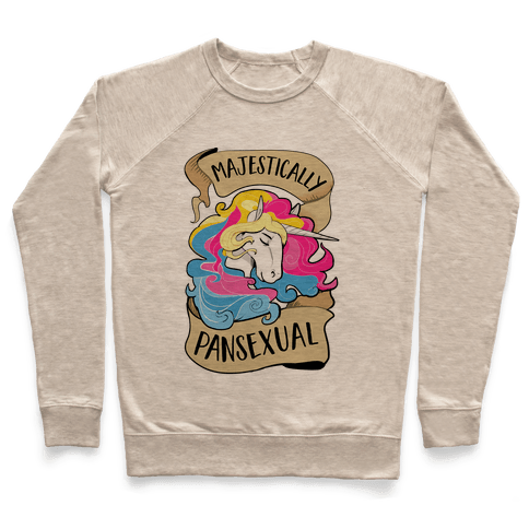 Majestcially Pansexual Pullover