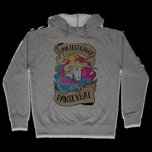 Majestcially Pansexual Hooded Sweatshirt