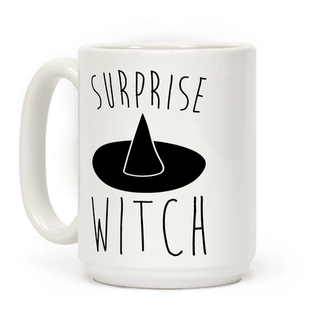 Surprise Witch Parody Coffee Mug
