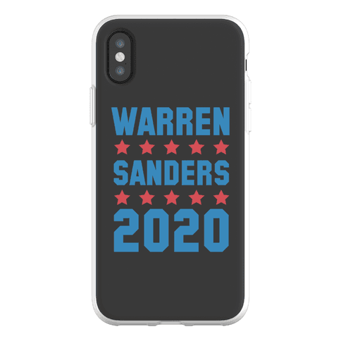 Warren Sanders 2020 Phone Flexi-Case