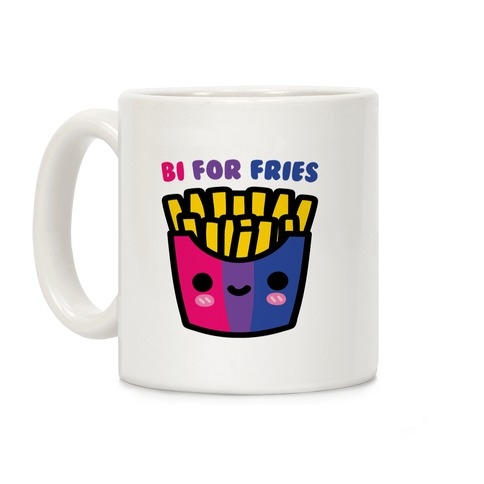 Bi For Fries Coffee Mug