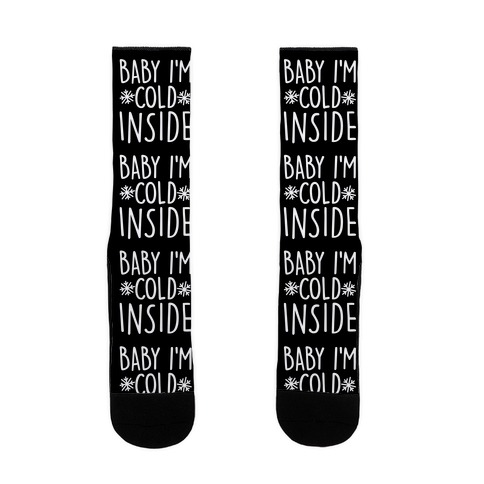 Baby I'm Cold Inside Sock
