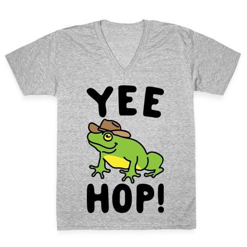 Yee Hop V-Neck Tee Shirt