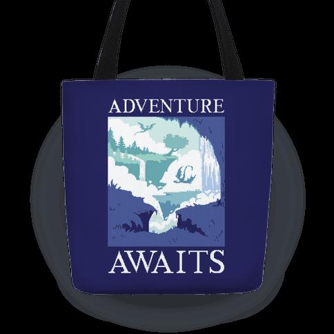 Adventure Awaits Tote
