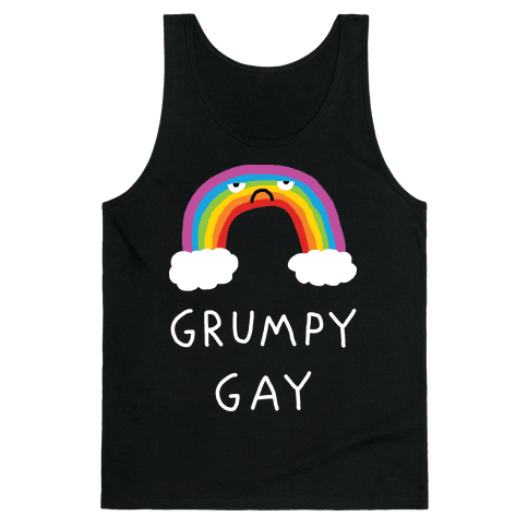 Grumpy Gay Tank Top