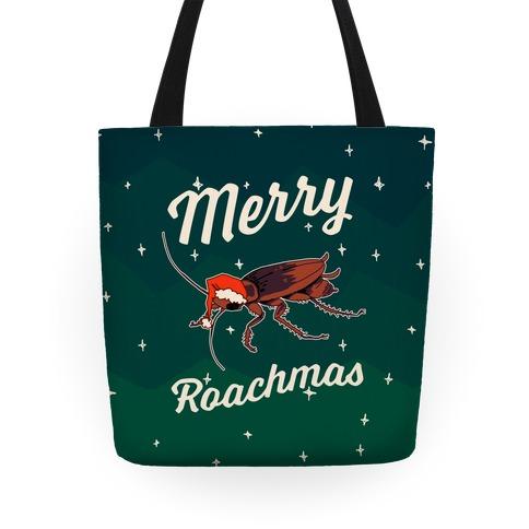 Merry Roachmas Tote