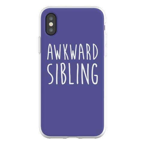 Awkward Sibling Phone Flexi-Case