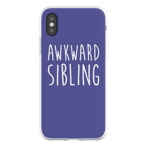 Awkward Sibling Phone Flexi-Case