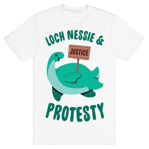 Loch Nessie & Protesty T-Shirt