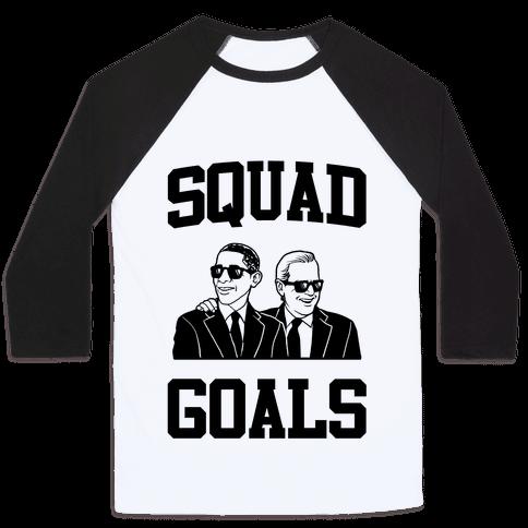 Squad Goals Baseball Tee