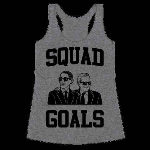 Squad Goals Racerback Tank Top