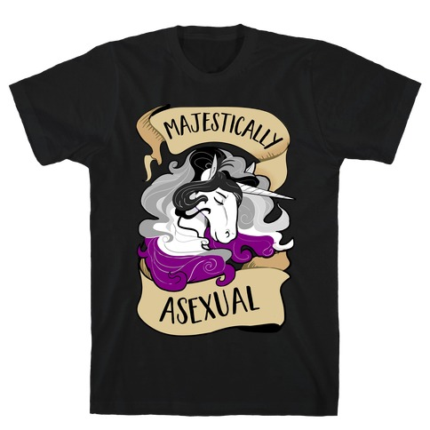Majestically Asexual T-Shirt
