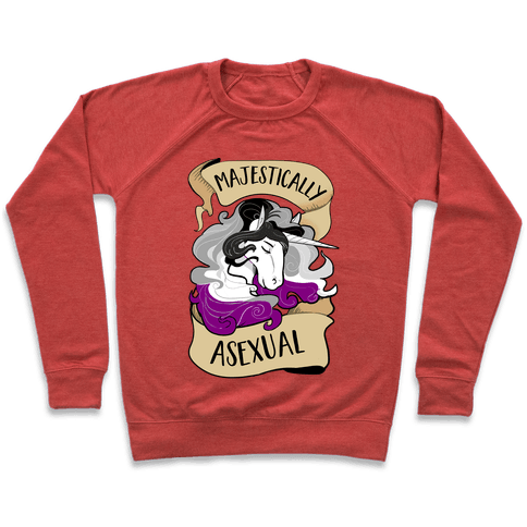 Majestically Asexual Pullover