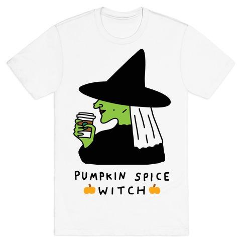 Pumpkin Spice Witch T-Shirt