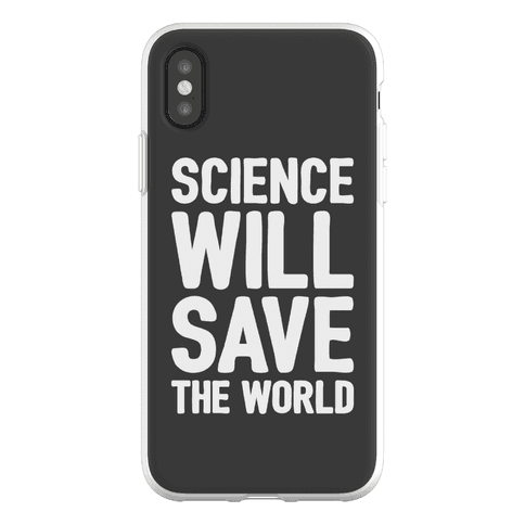 Science Will Save The World Phone Flexi-Case