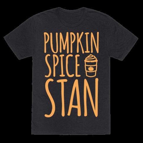 Pumpkin Spice Stan White Print