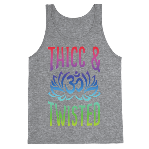 Thicc And Twisted Yoga Tank Top