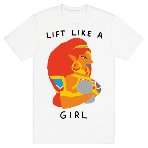 Lift Like A Girl Mens T-Shirt