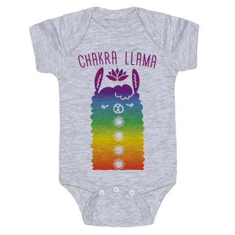 Chakra Llama Baby Onesy