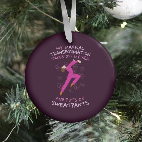 Magical Sweatpants Transformation Ornament