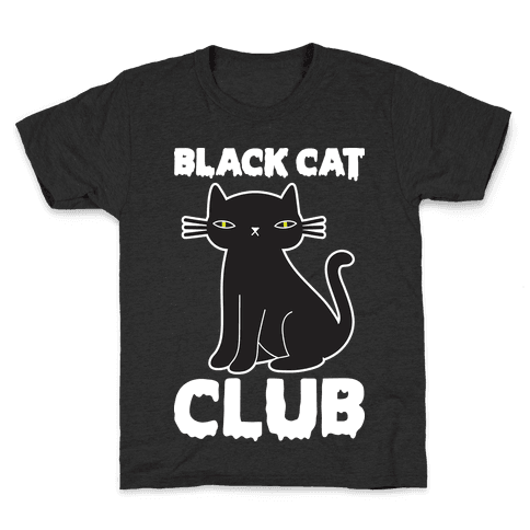 Black Cat Club Kids T-Shirt
