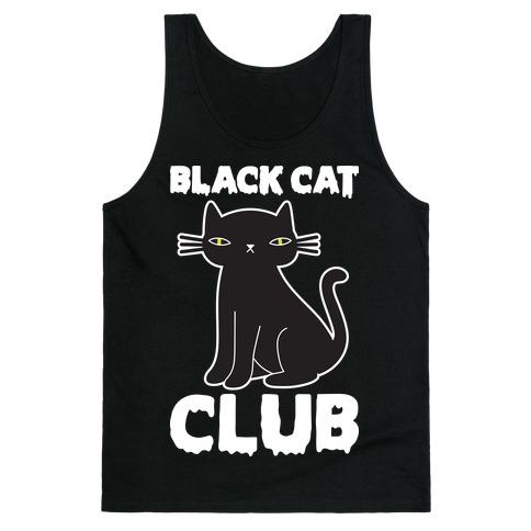 Black Cat Club Tank Top