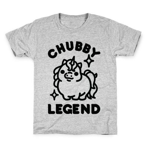 Chubby Legend Unicorn Kids T-Shirt