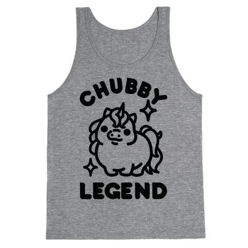 Chubby Legend Unicorn Tank Top