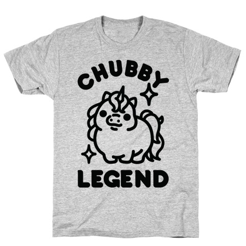 Chubby Legend Unicorn T-Shirt