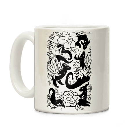 Succulent Dragons Coffee Mug