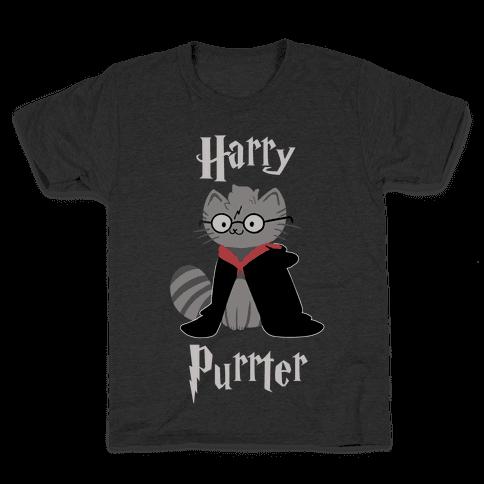 Harry Purrter Kids T-Shirt