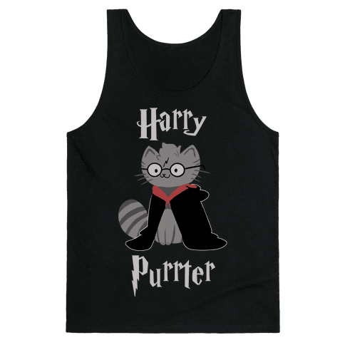 Harry Purrter Tank Top
