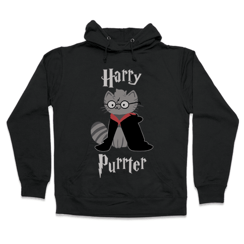 Harry Purrter Hooded Sweatshirt