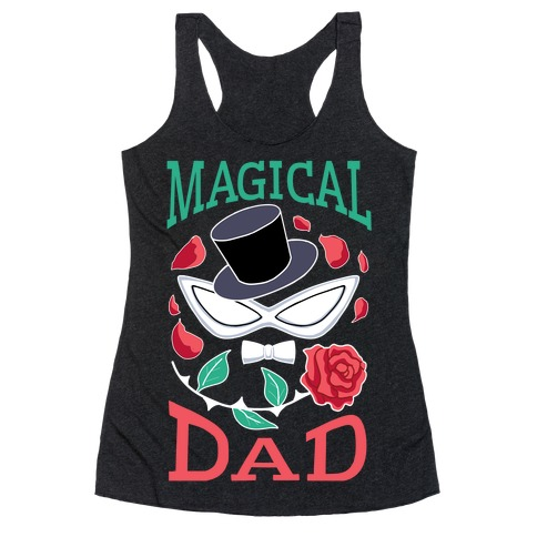 Magical Dad Racerback Tank Top