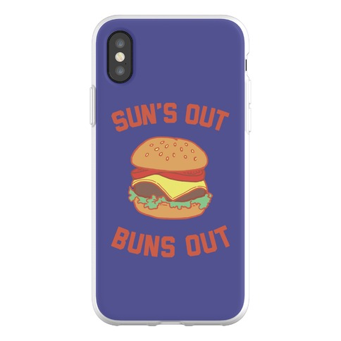 Suns Out Buns OUt Phone Flexi-Case