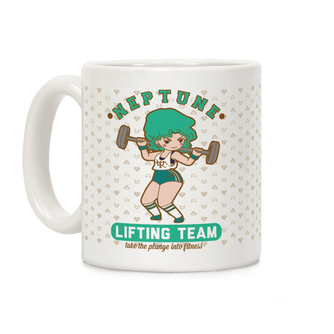Neptune Lifting Team Parody Coffee Mug