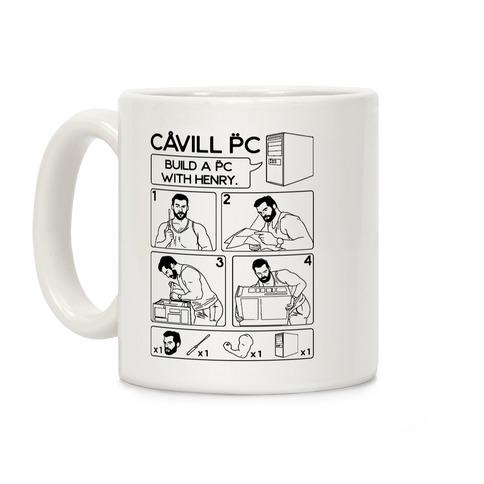 Cavill PC Parody Coffee Mug
