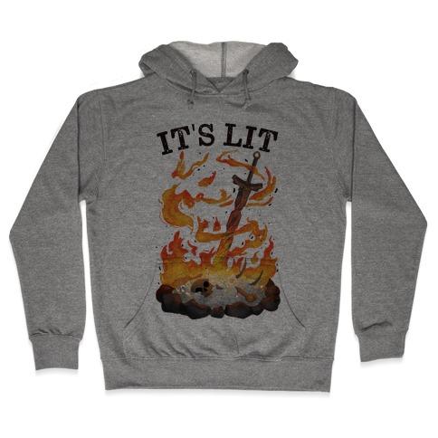It's Lit Bonfire Hooded Sweatshirt