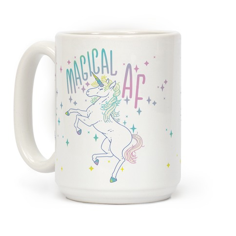 Magical AF Unicorn Coffee Mug