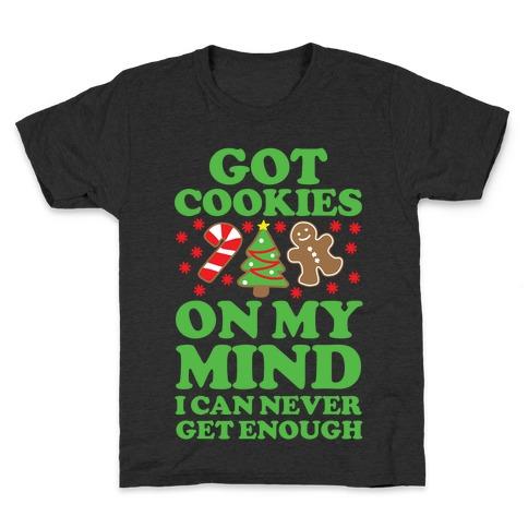 Got Cookies On My Mind Kids T-Shirt