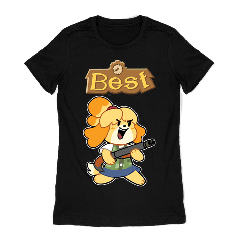 Best Friends Doomguy and Isabelle Womens T-Shirt