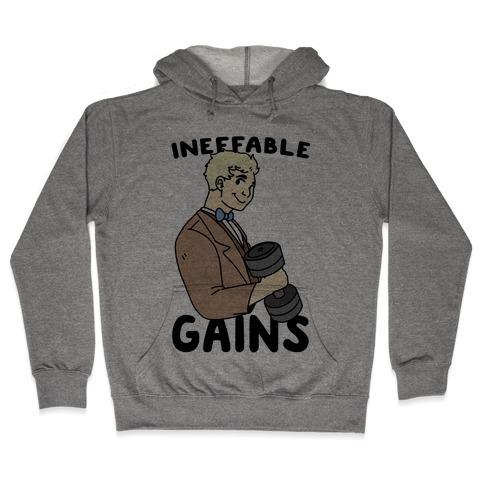 Ineffable Gains - Aziraphale Hooded Sweatshirt