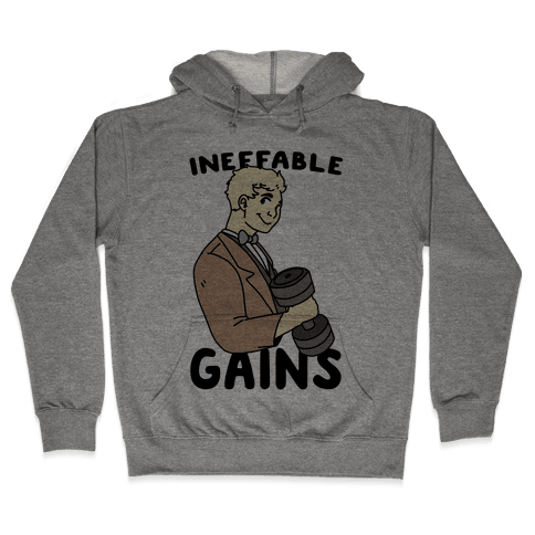 Ineffable Gains - Aziraphale Hooded Sweatshirt