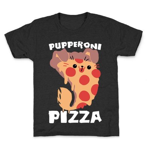PUPPERoni Pizza Kids T-Shirt