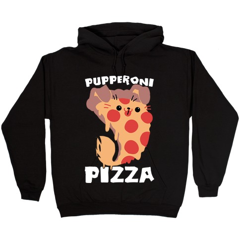 PUPPERoni Pizza Hooded Sweatshirt