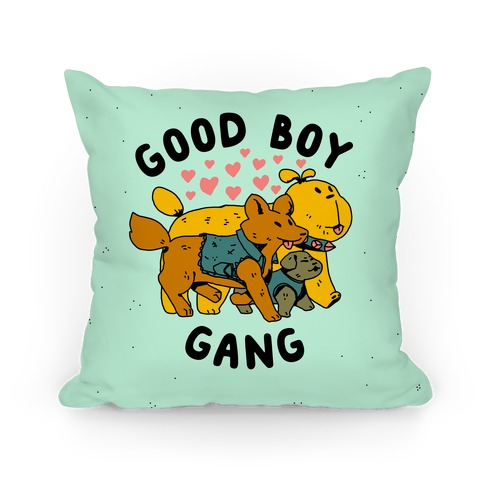 GOOD BOY GANG Pillow